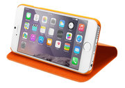 LAUT Apex Folio Bookcase iPhone 6/6S Plus Orange