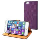 Muvit Slim Wallet case iPhone 6 Plus Purple