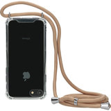 Mobiparts Lanyard iPhone SE 2020 / 8 / 7 hoesje Nude