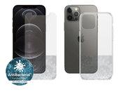 PanzerGlass iPhone 12 Pro / iPhone 12 screenprotector + hoesje kit