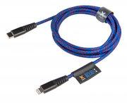 Xtorm Solid Blue Lightning naar USB-Ckabel 2 meter