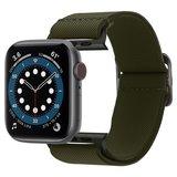 Spigen Fit Lit Apple Watch 44 mm bandje Khaki