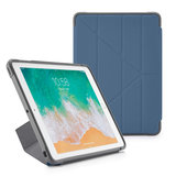 Pipetto Rugged Origami iPad 2018 / 2017 hoesje Navy