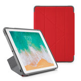 Pipetto Rugged Origami iPad 2018 / 2017 hoesje Rood