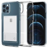 Spigen Crystal Slot iPhone 12 Pro / iPhone 12 hoesje Doorzichtig