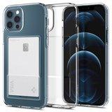 Spigen Crystal Slot iPhone 12 Pro Maxhoesje Transparant