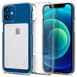 Spigen Crystal Slot iPhone 12 mini hoesje Transparant