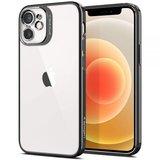 Spigen Optik Crystal iPhone 12 mini hoesje Grijs