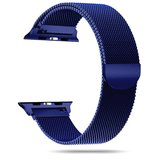 TechProtection Metal Apple Watch 44 / 42 mm band Donkerblauw