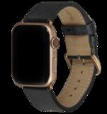 dbramante1928 Mode Apple Watch 40 mm bandje Zwart
