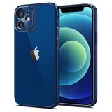 Spigen Optik Crystal iPhone 12 Pro / iPhone 12 hoesje Blauw