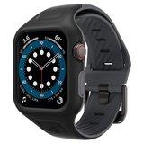 Spigen Liquid Air Pro Apple Watch 44 mm bandje Zwart