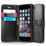 Spigen SGP Wallet iPhone 6/6S Black