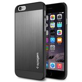 Spigen SGP Aluminium Fit case iPhone 6/6S Space Grey