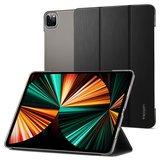 Spigen Liquid Air FolioiPad Pro 2021 12,9 inch hoesje Zwart