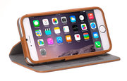 Decoded Leather Surface Wallet case iPhone 6/6S Plus Brown