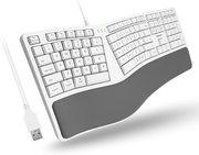 Macally ergonomisch mErgoKey bedraad toetsenbord voor Mac