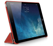 Pipetto Origami Smart iPad Air 2 hoesje Rood