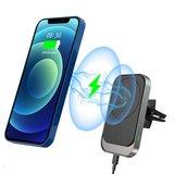 Tech Protection MagSafe iPhone autohouder Zwart