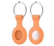 Tech Protection Icon AirTag sleutelhanger Oranje
