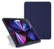 Pipetto Origami TPU iPad Pro 2021 11 inch hoesje Donkerblauw