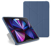 Pipetto Origami TPU iPad Pro 2021 11 inch hoesje Navy