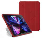 Pipetto Origami TPU iPad Pro 2021 11 inch hoesje Rood