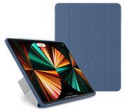 Pipetto Origami TPU iPad Pro 2021 12,9 inch hoesje Navy