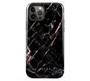 Burga Tough iPhone 12 Pro / iPhone 12 hoesje Rose Gold Marble