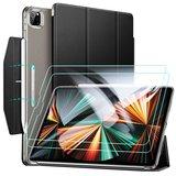 ESR Yippee iPad Pro 12,9 inch 2021 hoesje + glazen screenprotector Zwart