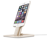 Twelve South HiRise Deluxe iPhone stand Gold