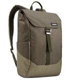 Thule Lithos 20 Liter rugzak backpack Groen