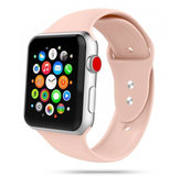 TechProtection siliconen Apple Watch 40 / 38 mm bandje Roze