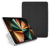 Pipetto Origami Luxe Folio iPad Pro 2021 12,9 inch hoesje Zwart