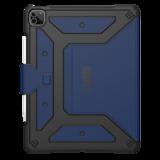UAG MetropolisiPad Pro 2021 12,9 inch hoesje Blauw