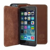 Bugatti Leather Bookcase Oslo iPhone 6/6S  Plus Brown