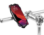 Bone Bike Tie 4 universele telefoon fietshouder Zwart