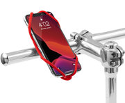Bone Bike Tie 4 universele telefoon fietshouder Rood