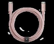 Native Union Belt Pro USB-C naar USB-C kabel Rose
