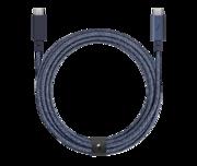 Native Union Belt Pro USB-C naar USB-C kabel Indigo