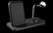 ZENS Stand + Dock + Apple Watch draadloze oplader zwart
