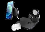 ZENS MagSafe + Apple Watch draadloze oplader Zwart