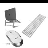 MacAlly complete thuiswerk set toetsenbord stand en muis