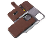 Decoded Leather 2 in 1Wallet iPhone 13 Pro hoesje Bruin