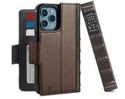 Twelve South BookBook MagSafe iPhone 12 Pro / iPhone 12 hoesje Bruin