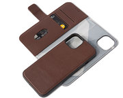 Decoded Leather 2 in 1Wallet iPhone 13 mini hoesje Bruin
