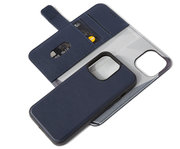 Decoded Leather 2 in 1Wallet iPhone 13 Pro Max hoes Donkerblauw