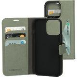 Mobiparts Classic Wallet iPhone 13 Pro hoesje Groen