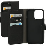 Mobiparts Saffiano Wallet iPhone 13 Pro hoesje Zwart
