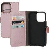 Mobiparts Saffiano Wallet iPhone 13 Pro hoesje Roze